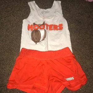 Hooter girl uniforms